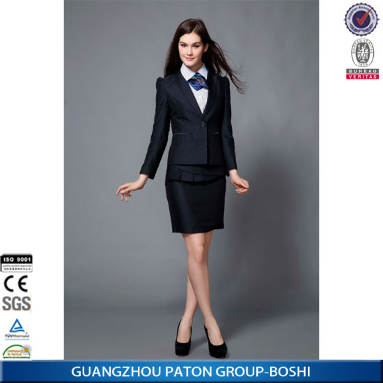 China Women Business Suit Black Church Clothing China Business