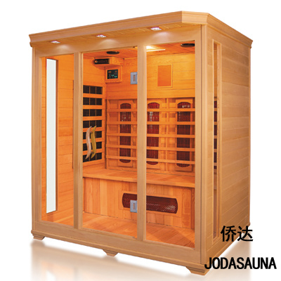 Europe and The United States Love Style Economy Dry Far Infrared Saunas for 4 Person Made in Jiangsu China