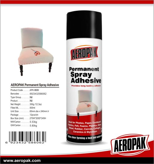 Adhesive Spray for Embroidery pictures & photos