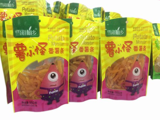 Eco Friendly Printed Resealable Plastic Food Packaging Bag Self Standing up Pouch for Snacks