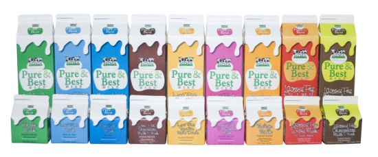 Fresh Milk Gable Top Cartons pictures & photos