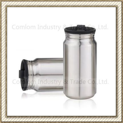 CL1C-GS3C-A Comlom 350ml Stainless Steel Vacuum Cola Canteen