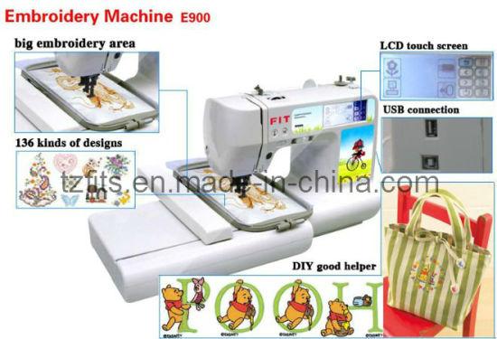 Domestic Embroidery Machine