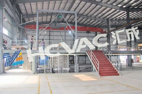Stainless Steel Pipe PVD Titanium Vacuum Metallizing Plant/PVD Coating Plant pictures & photos