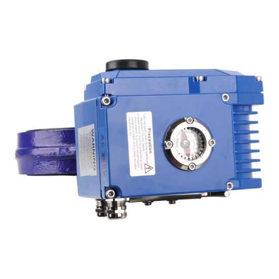 2018 New Coming Multi Functional Electric Valve Actuator in Blue