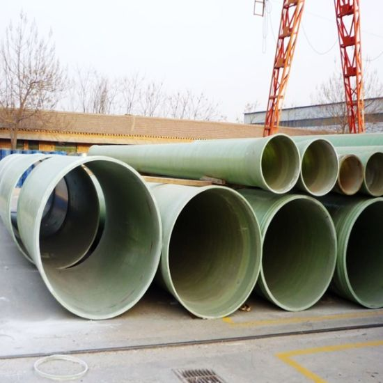 Fiber Pipe, High Temperature FRP GRP Fiberglass Pipe pictures & photos