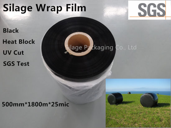 Made-in-China Blown Silage Wrap Films Silage Film in Black