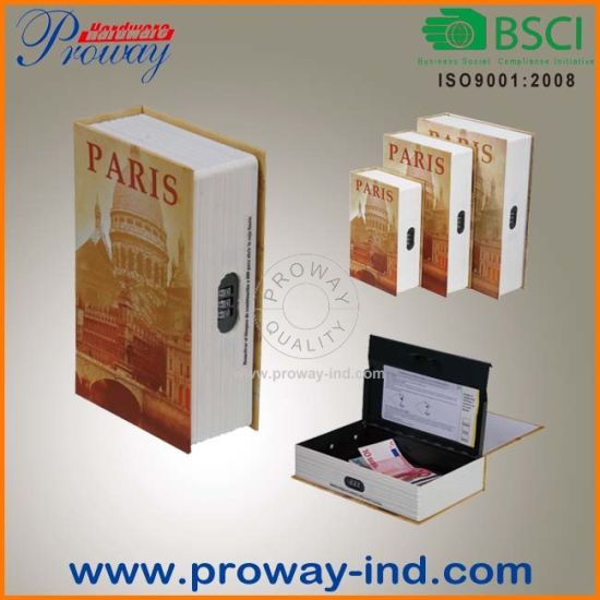 Small Book Safe with Combination Lock