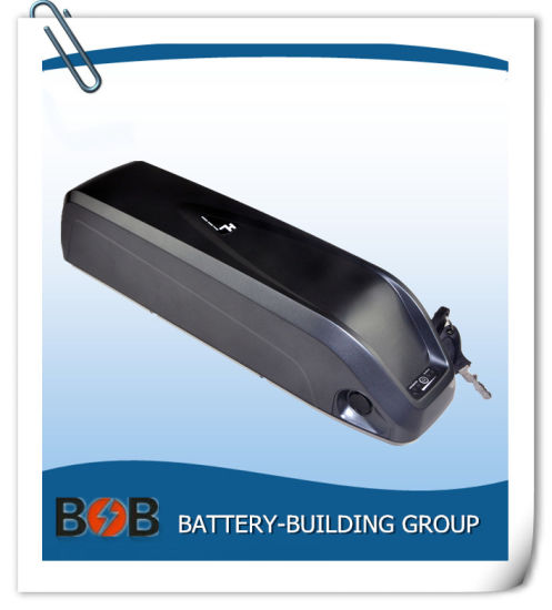 36V 10Ah Fish Lithium Li-ion Battery w// Charger for 350W Electric Bicycle E-Bike