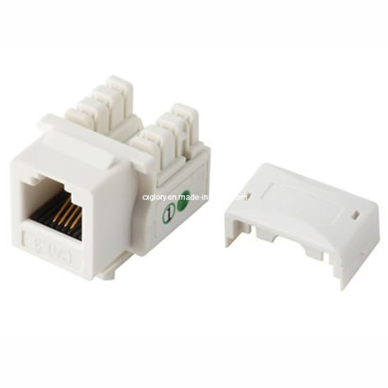 Cat  3 Telephone Rj11 Connector Keystone Jack