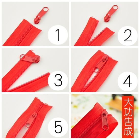 N3 Nylon Zipper for Bags Nuguard Zipper