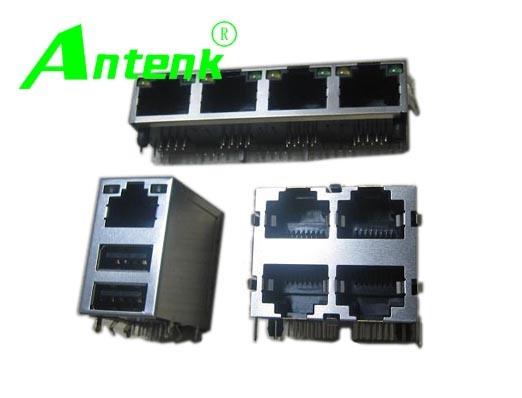 Magnetic PCB RJ45 Connectors