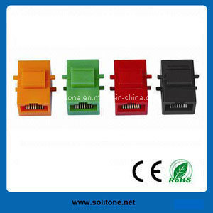 CAT6A FTP 180 Degree Keystone Jack pictures & photos