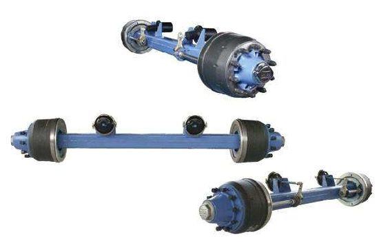 Lowbed Trailer Lowboy Axle pictures & photos