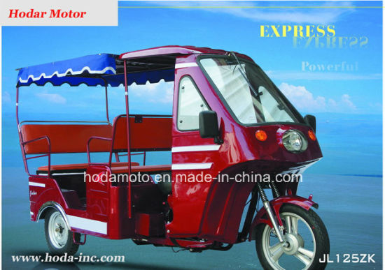 Petrol Passenger Tuk Tuk Taxi Tricycle Rickshaw (HD150ZK-5) pictures & photos
