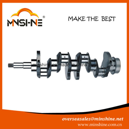 4D31 Crankshaft for Mitsubishi pictures & photos