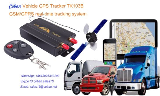 IMEI Number Tracking Online Tk103b Vehicle GPS Tracker with Free Tracking  Software