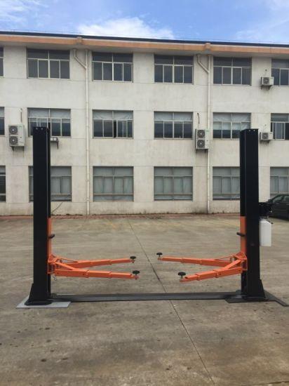 8 Fold Profile 2 Post Car Lift Floorplate Auto Hoist Manual Release Vehicle Lift
