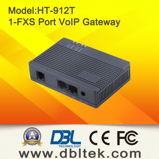 1 FXS Port VoIP Gateway VoIP FXS Gateway pictures & photos