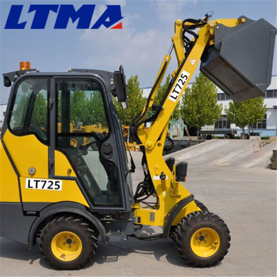 Mini Loader Machine Prices 0.8 Ton Chinese Front End Loader pictures & photos