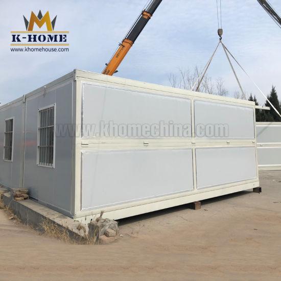 Folding Container Labor Camp Refugee Camp Site Dormitory