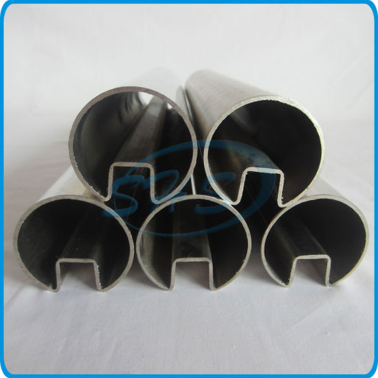 Stainless Steel Slotted Tubes for Railings pictures & photos