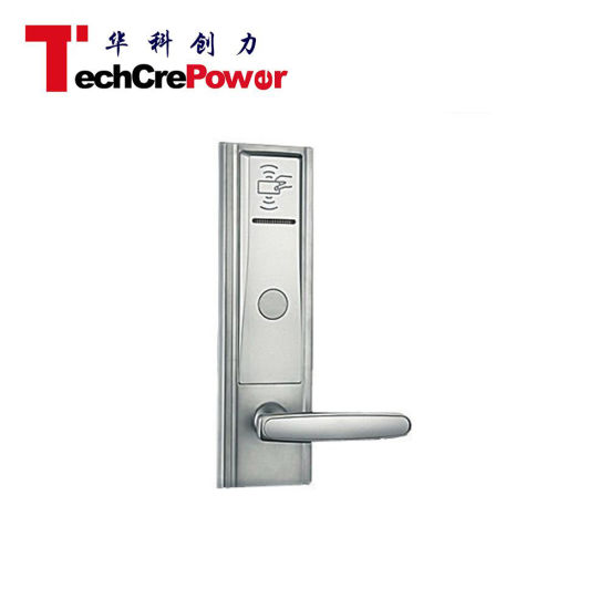 L822m High Quality Offline ANSI 5 Latch Key Card Hotel Door Lock pictures & photos
