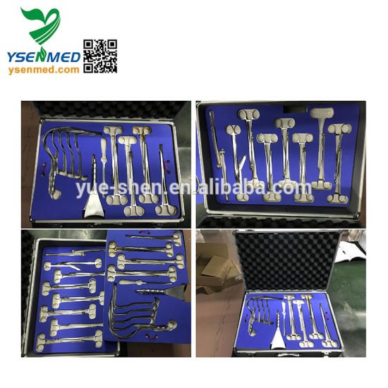 Medical Stainless Steel Abdominal Surgical Instrument Set pictures & photos