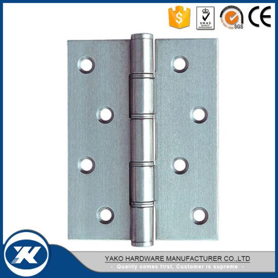 China Stainless Steel 4 Nylon Washer Wooden Door Hinge - China ...