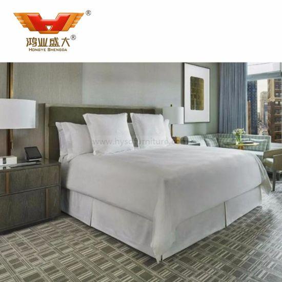 Modern Simple New Model Hotel Bed Room Furniture Bedroom Set