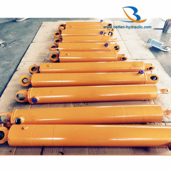Custom Hot Sale Lift Hydraulic Cylinder with Valve pictures & photos