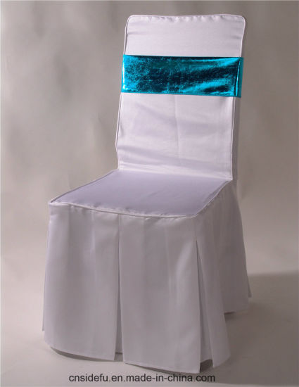 Best Price Hotel Fancy Banquet Chair Cover with Sash pictures & photos