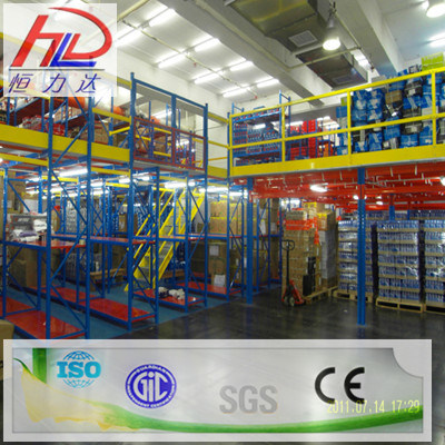 Structural Steel Mezzanine Multi-Tier Shelving pictures & photos