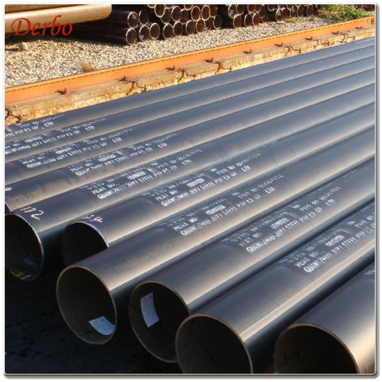 "14"" Schedule 80 X52 Seamless Pipe for Gas Pipeline"