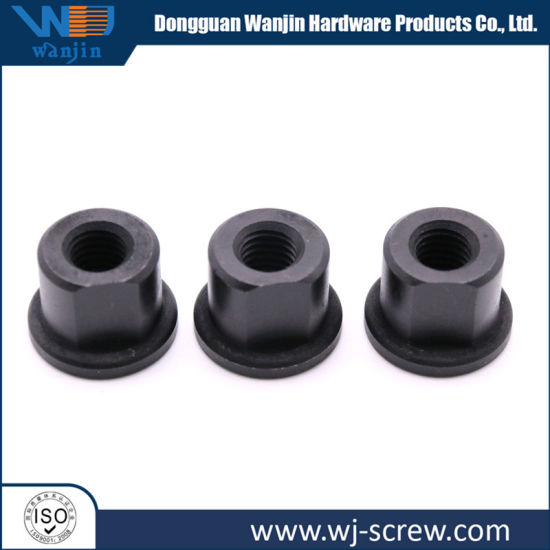 High Quality Black Hexagon Furniture Square Threaded Rod And Anchor Nut