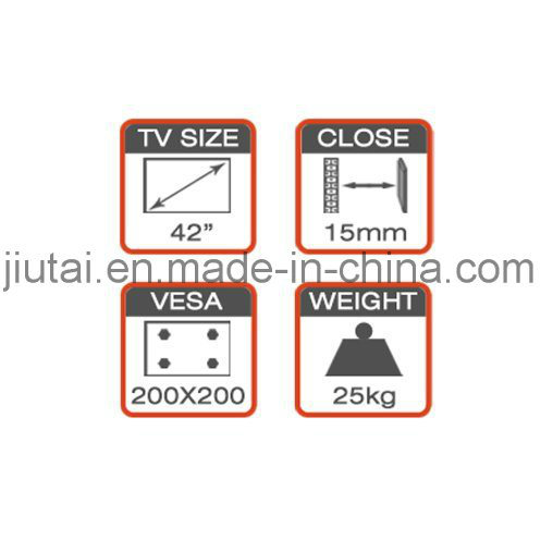 Economy TV Wall Bracket for 17-42′′ pictures & photos