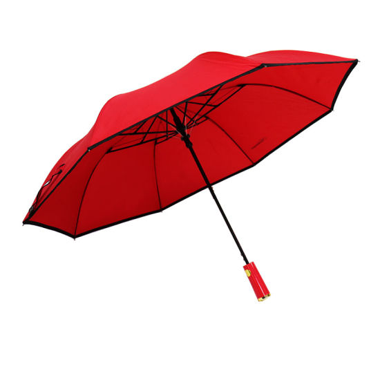 2 Folding Umbrella Auto Open 8 Ribs for Mens and Womens (YZ-19-96)