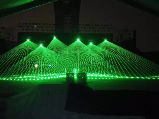 10W Green Indoor Laser Light High Power Stage Laser Light Stage Equipment