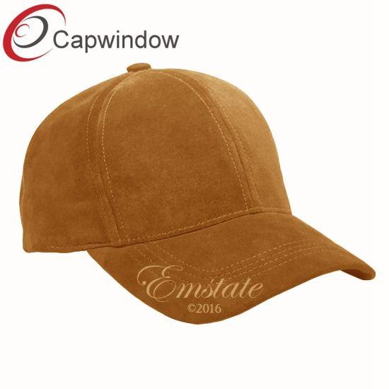 277a53a8606f8 China Faux Suede Plain Baseball Cap Dad′s Cap Golf Hat - China ...