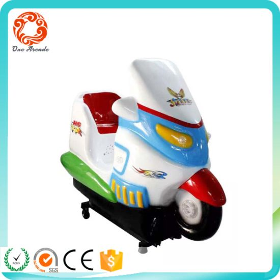 Coin Pusher Type Giraffe Animal Kids Ride Game Machine Children Ride Game pictures & photos