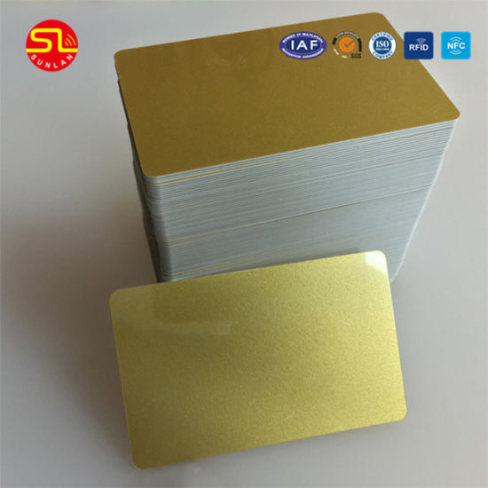 Free Sample 125kHz/135.6MHz RFID Blank PVC Chip Card pictures & photos