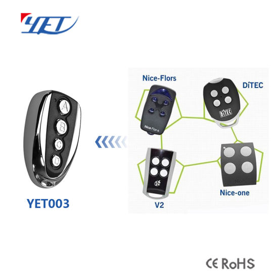 Universal Remote Control Copy Nice V2 Ditec pictures & photos