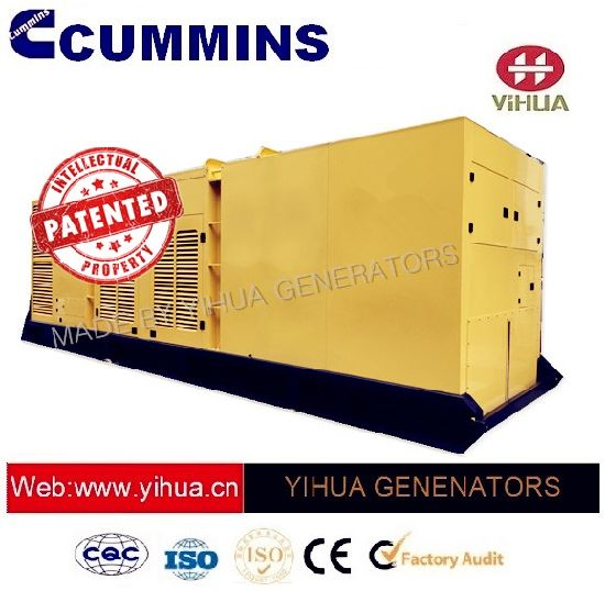 Ccec Silent Container Canopy Prime Power 620-1250kw 60Hz Cummins Genset[IC180207A]