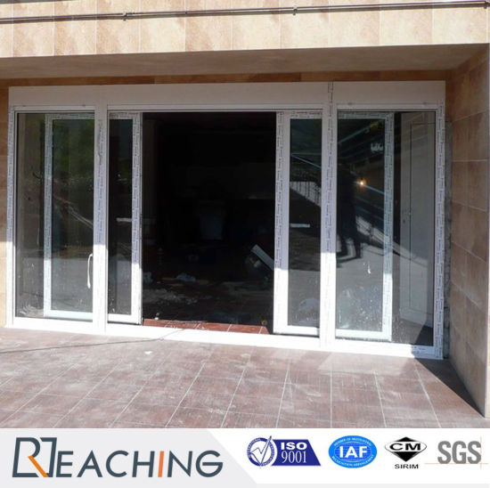 China Upvc With Steel Reinforce Sliding Balcony Door Anti Water