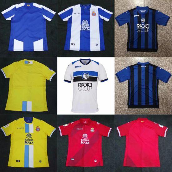 release date 2701b 2401f 2019 Wholesale RCD Espanyol Atalanta Replica Putian Football Soccer Jerseys