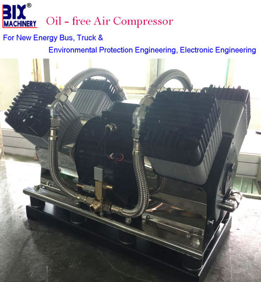 New Enery Bus Door Open Funcation High Pressure Oil Free Air Compressor pictures & photos