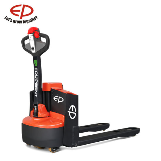 48V 2 0t Electric Pallet Truck with Small But Strong Frame