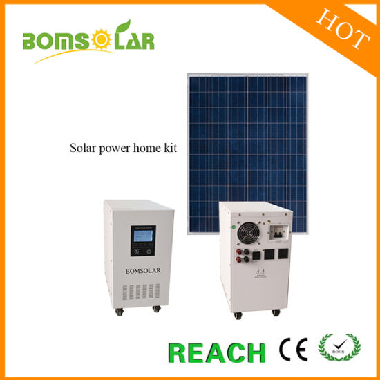 3kw off Grid Solar UPS Power Bank, Solar Home Power System