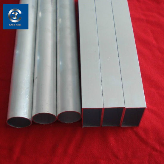7075 Alloy Aluminum Square Tube pictures & photos