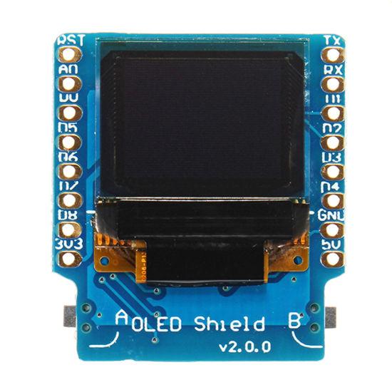 0 66 Inch I2c Iic OLED Display Module 64X48 for Wemos D1 Mini Esp32 Arduino